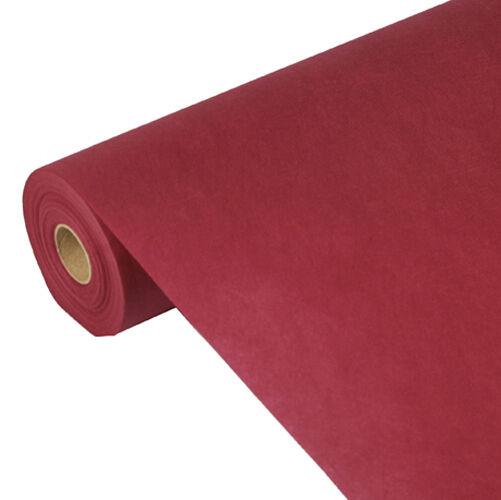 3 Bordeaux nappes tissu similaire nappes  soft selection  40 M x 1,18 M