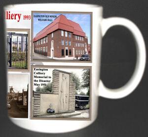 EASINGTON-COLLIERY-COAL-MINE-MUG-LIMITED-EDITION-MINERS-COUNTY-DURHAM-PIT