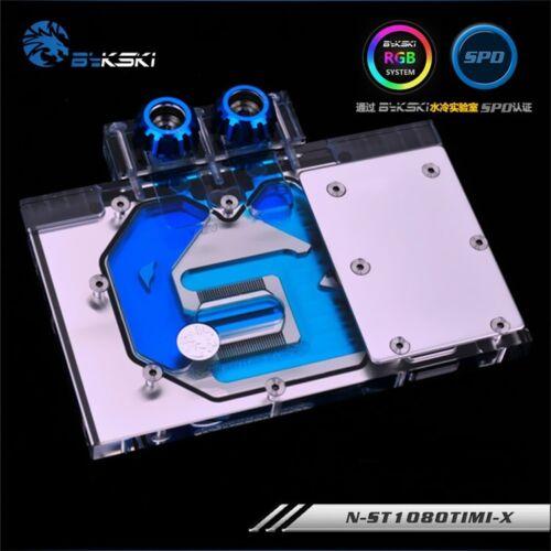 Full-Cover GPU Water Cooling RGB Copper Block For ZOTAC GeForce GTX 1080Ti Mini