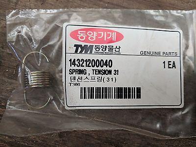 Agriculture Tym Ressort Tendeur P/n 14321200040