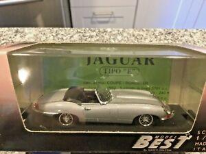 Jaguar E Coupe/' 1961 Light Green Met.1:43 Model BEST MODELS