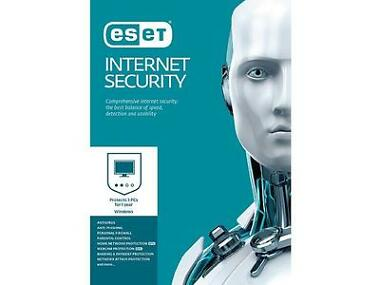 ESET Internet Security 2017 - 3 PCs