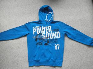 size 40 6aed6 20c66 Details zu Sweatshirt / Hoodie Herren, Much More, Gr. XS, blau