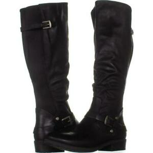 Bare-Traps-Womens-Yanessa-Almond-Toe-Knee-High-Fashion-Boots