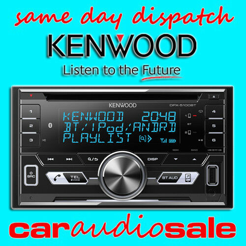 Kenwood DPX-5100BT Bluetooth CD MP3 Aux Usb Iphone Android Barato Estéreo De Coche Camioneta