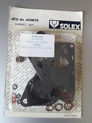 Pochette de joint pour carburateur 32BISA 4 sur Talbot Simca 1100 //1307