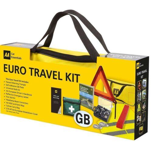 AA Eurotravel Kit Regalo Paquete de Conducción en Europa Conjunto De Coche Europeo