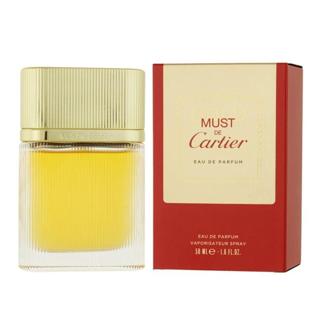 Cartier Must de Cartier Oro Eau de Parfum Edp 50Ml ( Woman)