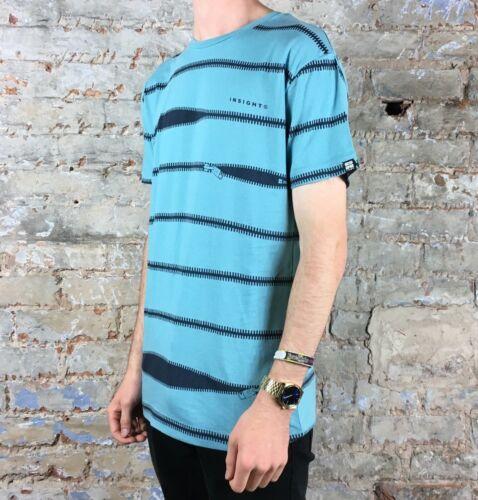 Size Insight Nail IT Tee T-Shirt Brand New Ultra Blue S,M,L