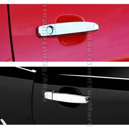Chrome Covers Set Full Mirrors+Door Handles For Chevy CAMARO 2010-2013 2014 2015