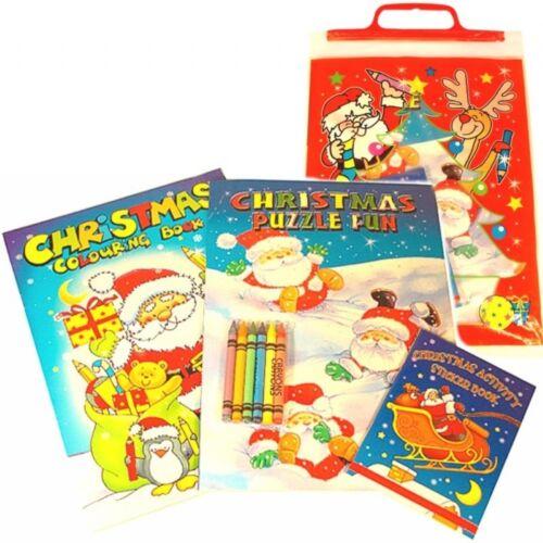 Libro de actividad para niños fiesta bolsas 4 paquete a menos que marcado ver los anuncios