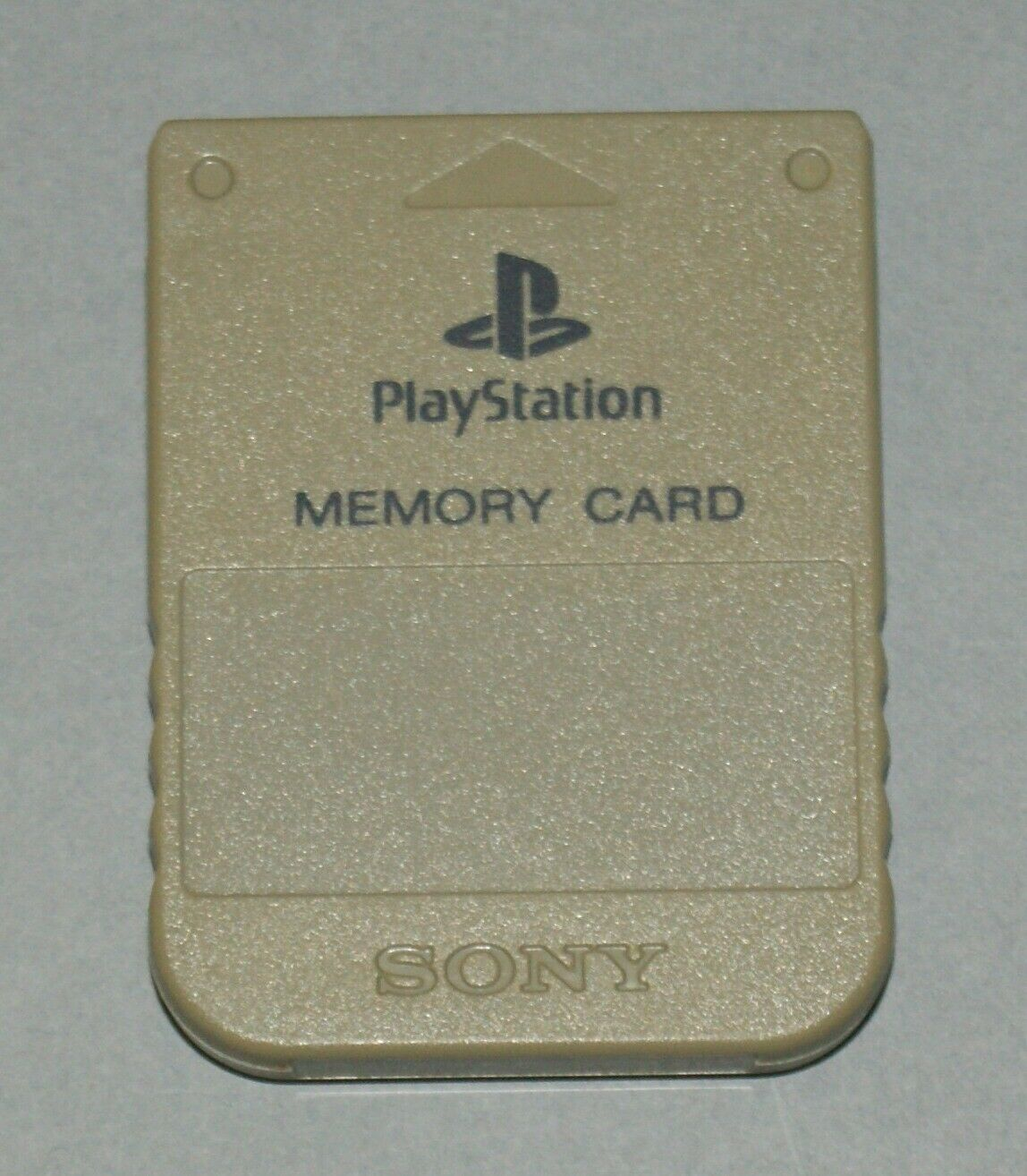 Grey Official PS1 Memory Card - Sony PlayStation One Tested SCPH-1020 #5