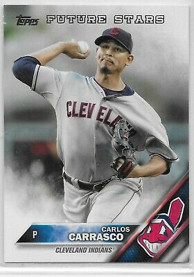 2016 Topps #140 Carlos Carrasco Future Stars Cleveland Indians | eBay
