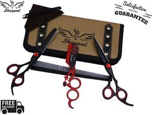 6-5-034-Black-Professional-Barber-Salon-Hair-Cutting-Japanese-Scissors-Thinner-Kit