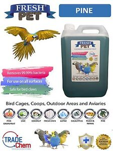 5l Frais Animal De Compagnie Cage À Oiseaux Désinfectant - Pin