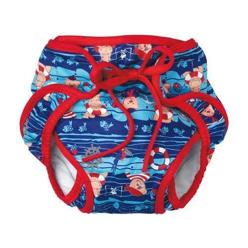 Beco schwimmwindel pannolini forma pirati aquawindel Costume S-XL//3-24 mesi