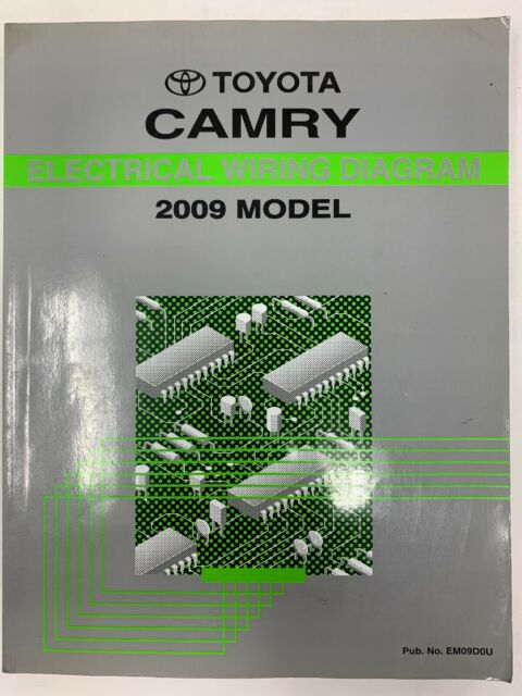 2009 Toyota Camry Electrical Wiring Diagram Repair Manual