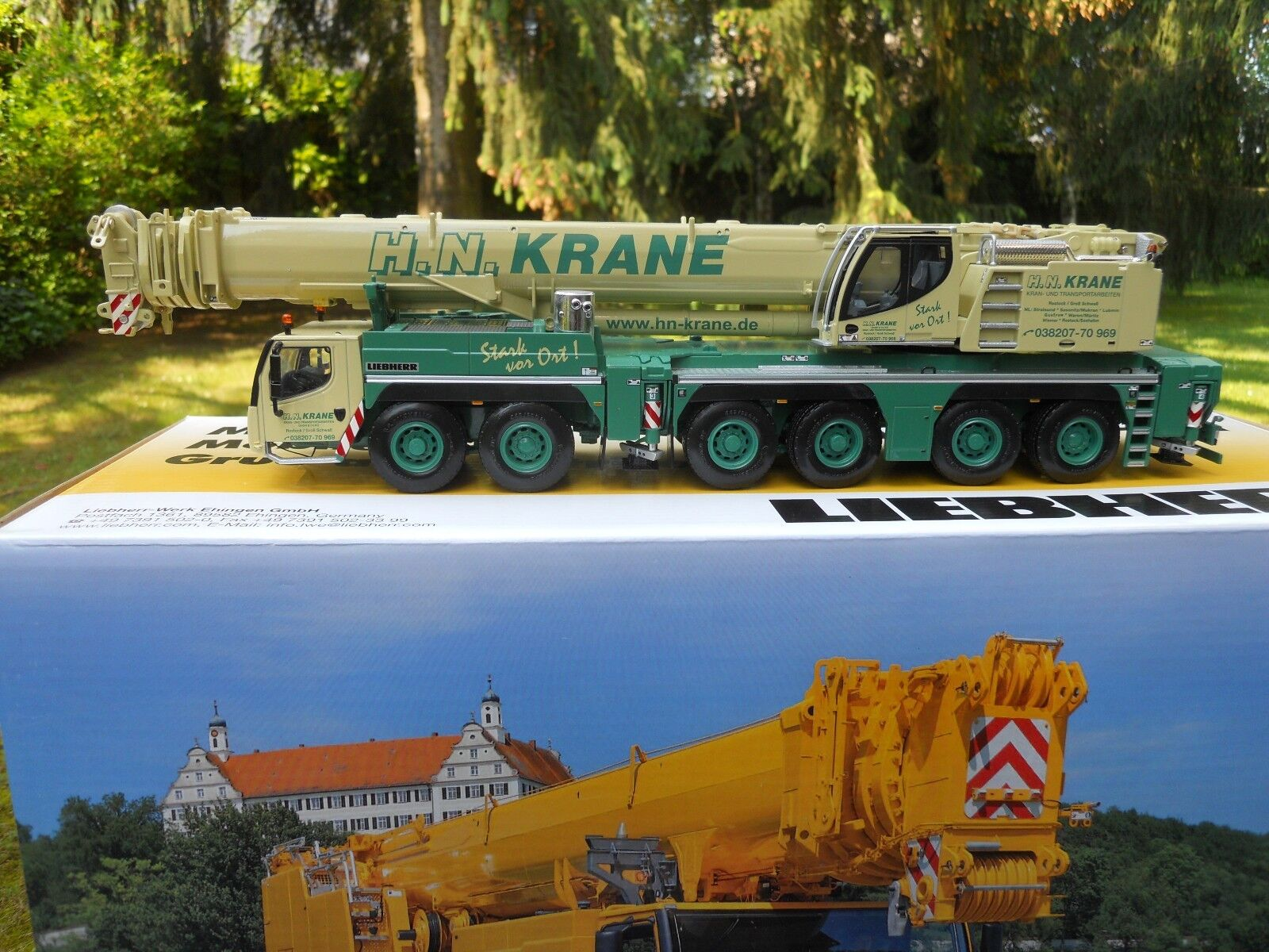WSI MODELS 01-1433 LIEBHERR LTM 1350-6.1 HN. KRANE (D) MINIATURE MINT CONDITION