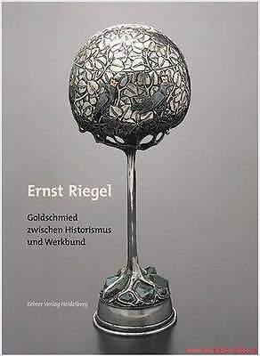 Fachbuch Ernst Riegel, Goldschmied Jugendstil-Silber, NEU STATT 25 Euro WICHTIG