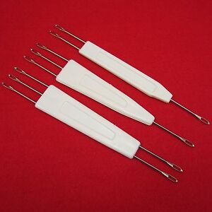 NEU-Deckernadeln-SET-9-0mm-1-2-1-3-2-3-fuer-Strickmaschine-n-Transfer-Needle