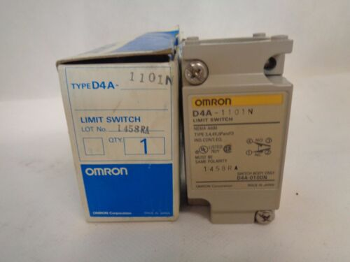 NEW OMRON D4A1101N LIMIT SWITCH