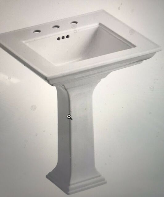 Trellis Bathroom Sink Pedestal