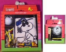 Peanuts Snoopy JOE PRO golf towel ball tee AND plated pivot gift set NEW IN BOX