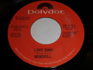 Mandrill-Love-Song-Two-Sisters-Of-Mystery-45-Soul-Funk