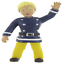 Comansi-Fireman-Sam-9cm-Bullyland-Collectable-Figures-Cake-Topper