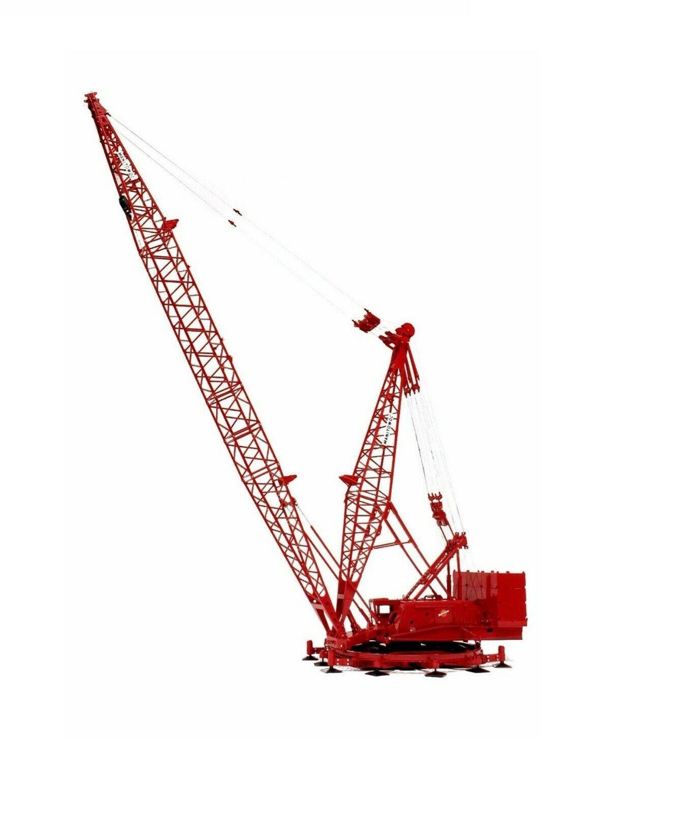 Manitowoc 4100W Ringer Crane w  Extension & Jib Kit TWH 1 50 Model  051B New