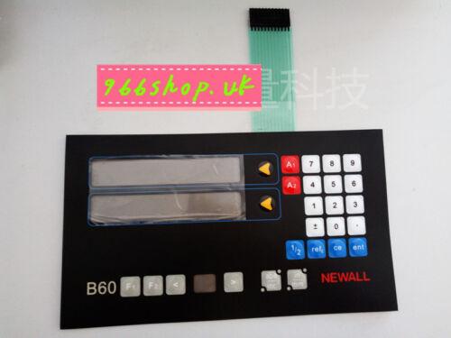 1PCS FOR For NEWALL B60 2 axis Membrane Keypad Membrane Keypad
