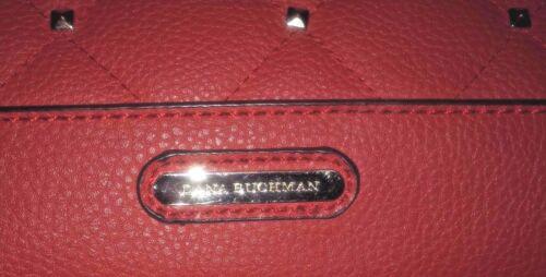 Groe Bag Tasche Tote Dana Buchman Quilted Metal Look Akzent Stud Accents Akzente Large ~ 16 PxqrHPR