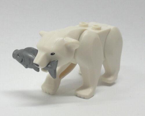 LEGO Arktis Eisbär Polar Bär Baer Bären Bear Tier Zoo City Arctic 60036