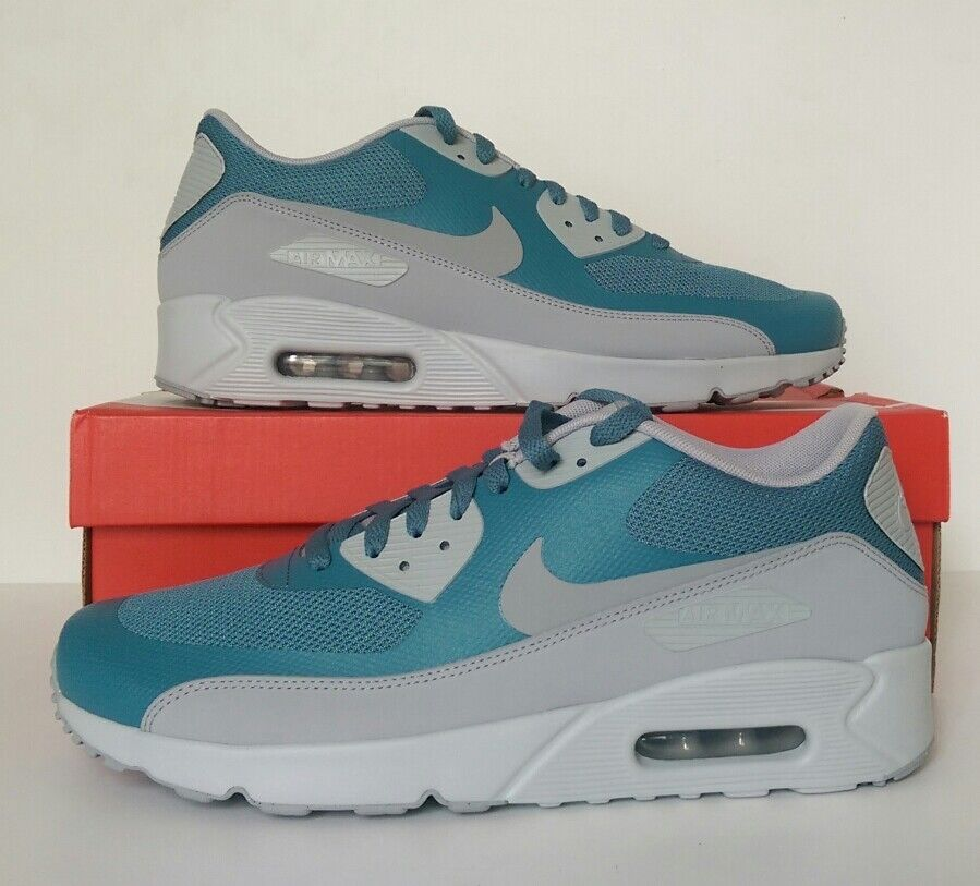 Nike Air Max 90 Ultra 2.0 Essential Blue/Grey Trainers Size 10