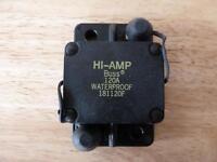 Bussman 24 Volt Dc Circuit Breaker 120 Amp 181120f Solar Power Battery Marine Rv