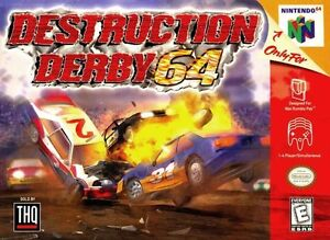 Destruction Derby 64 N64 Great Condition Fast Shipping
