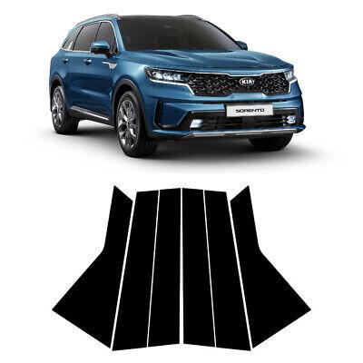Carbon Black B C Pillar Decal Sticker For 2021 2022 Kia Sorento Ebay