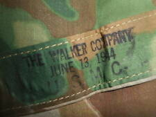 U.S.ARMY::1944 - WWII U.S.M.C. REVERSIBLE PONCHO,CAMOUFLAGE SHELTER,OR TENT WWII