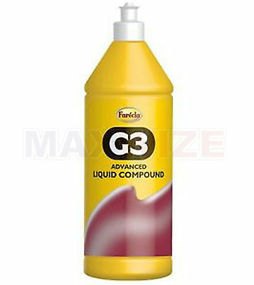 x2 Farecla G3 Advanced Liquid Compound 500ml Bottle Car Polishing FREE POSTAGE