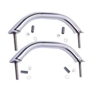 2X Polished Stainless Steel Marine Boat Grab Handrail Door Hardware