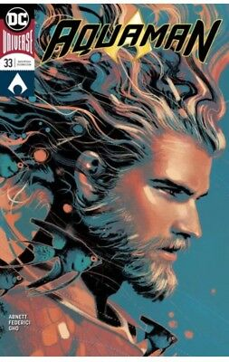 AQUAMAN #39 Middleton Cover B Variant DC Sold Out 1st Print Near Mint to NM+
