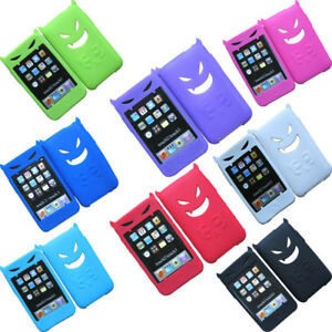 For-Apple-iPod-Touch-2nd-3rd-Gen-2G-3G-iTouch-Skin-Cover-Silicone-Case-Devil