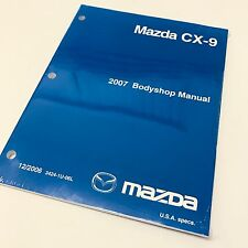 2007 Mazda CX-9 Factory OEM Workshop Service Repair Bodyshop Manual
