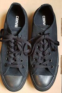 All black converse size 6   eBay