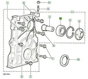 LAND-ROVER-GENUINE-PART-BEARING-FRONT-COVER-DISCOVERY-DEFENDER-TD5-ERR5285