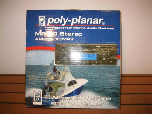 POLY PLANAR MR-50G Marine Stereo System Head Unit NEW Grey Gray