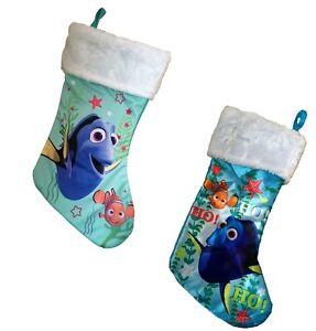 finding dory nemo boys girls christmas stocking kids - Finding Nemo Christmas Decorations