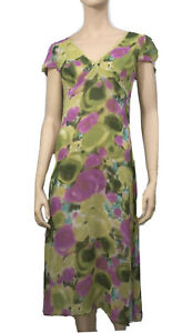 KATHERINE-SIZE-12-ABSTRACT-FLORAL-MIDI-DRESS
