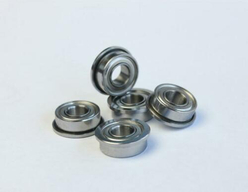 New 5pcs Flange Ball Bearing F678ZZ 8*12*3.5 mm Metric flanged Bearing
