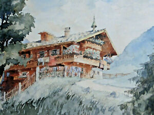 Signed-Eissner-Farm-IN-The-Tyrol-Alps